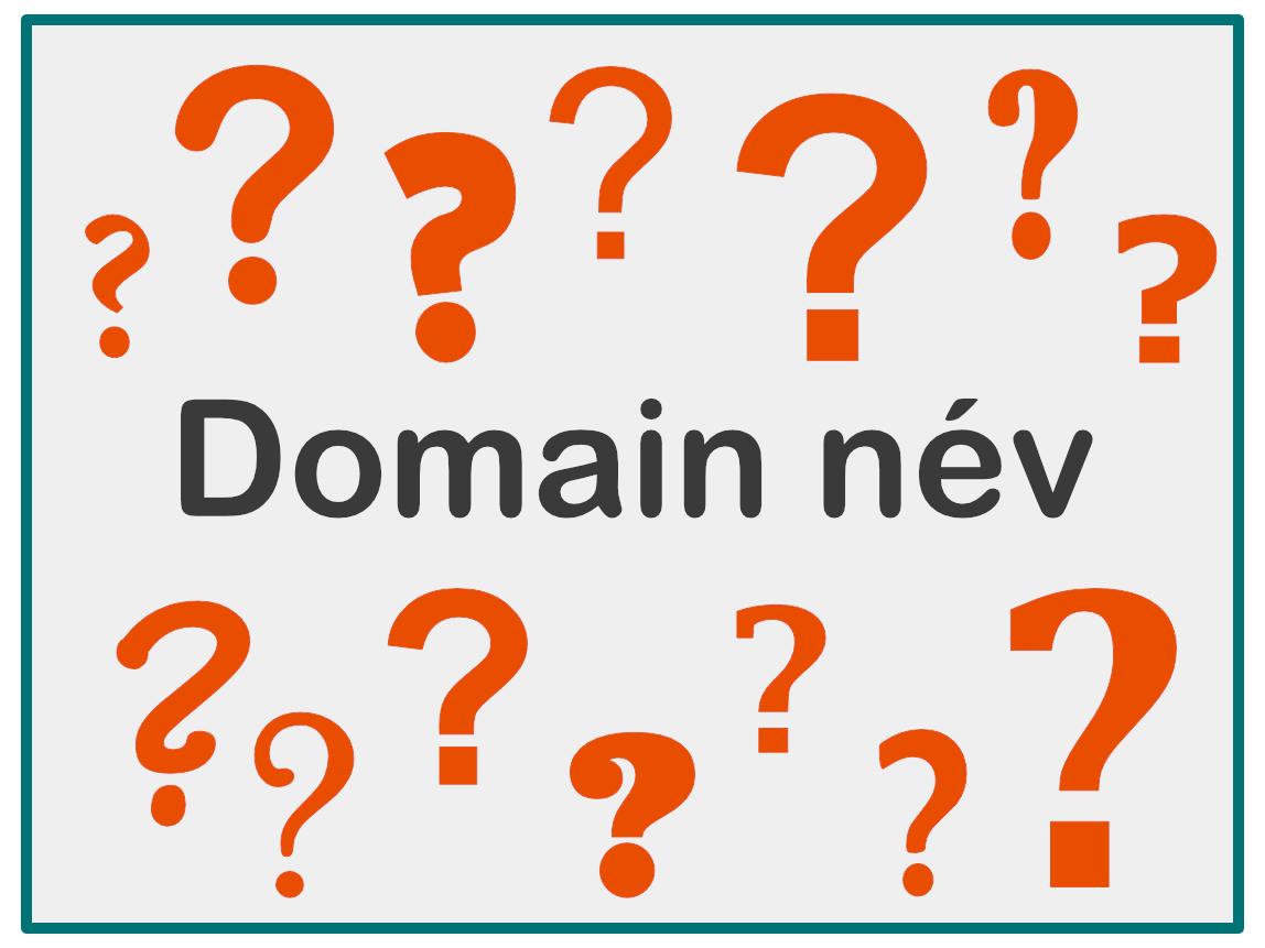 domain név jelentése, domén felépítése