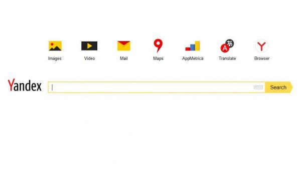 Internetes keresők Yandex
