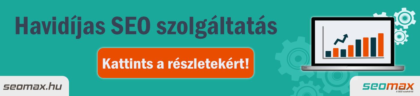Havidíjas SEO szolgáltatás - seomax.hu