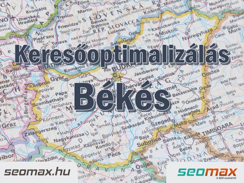 Keresőoptimalizálás Békés, seomax.hu - Seo szakértő
