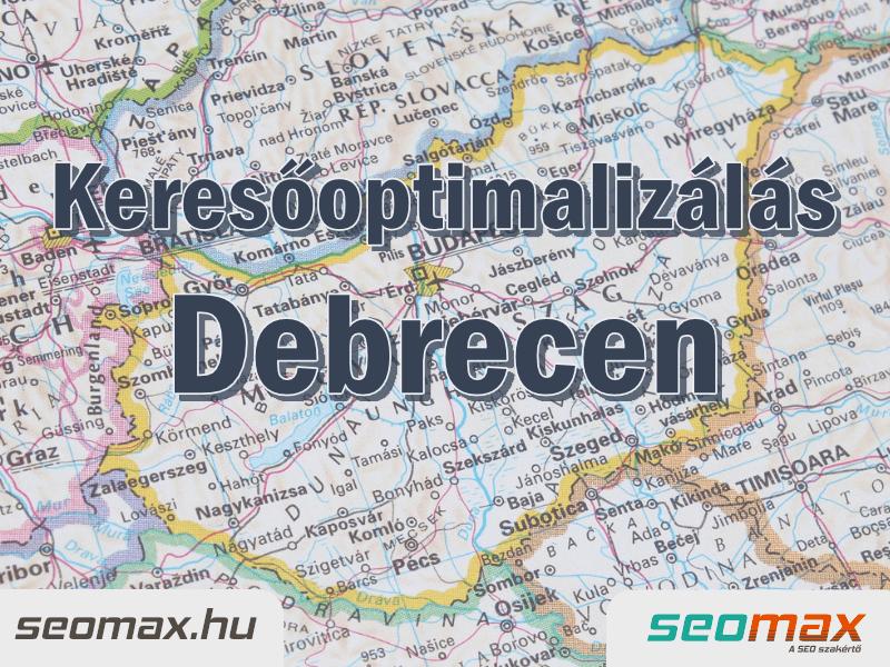 Keresőoptimalizálás Debrecen, seomax.hu - Seo szakértő