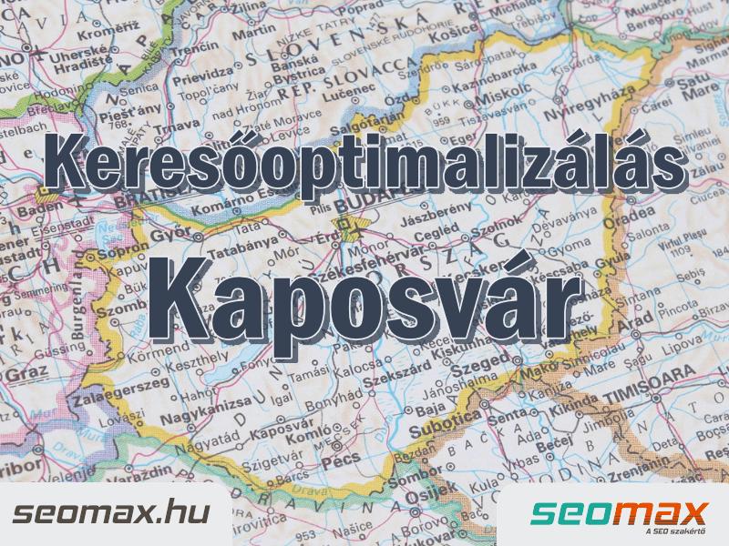 Keresőoptimalizálás Kaposvár, seomax.hu - Seo szakértő
